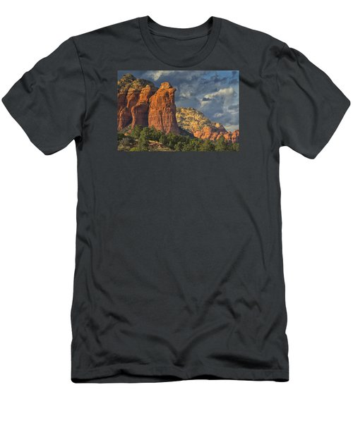 Men's T-Shirt (Slim Fit) featuring the photograph Coffee Pot Rules by Tom Kelly