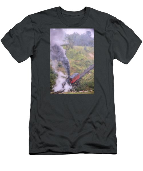 Cog Railway Car Men's T-Shirt (Athletic Fit)