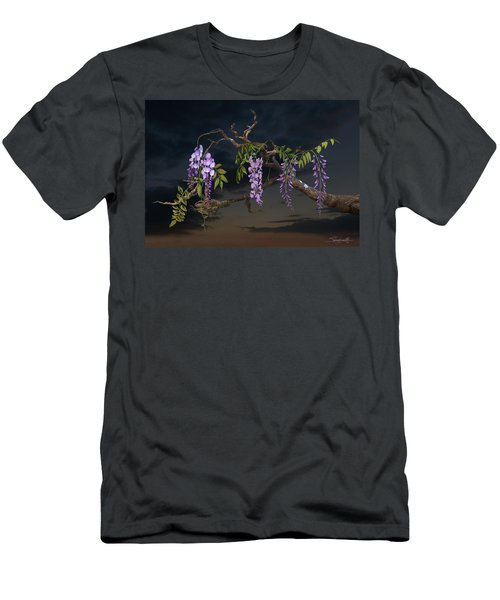 Cogan's Wisteria Tree Men's T-Shirt (Athletic Fit)