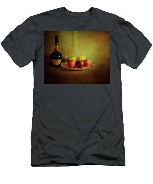 Cognac And Fruits Men's T-Shirt (Athletic Fit)