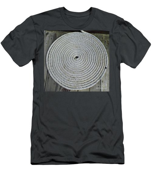 Coiled By D Hackett Men's T-Shirt (Athletic Fit)