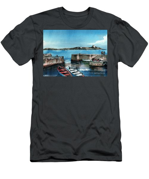 Coliemore Harbour, Dalkey, Dublin Men's T-Shirt (Athletic Fit)