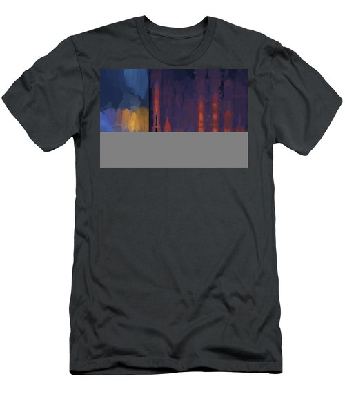 Color Abstraction Lii Men's T-Shirt (Athletic Fit)