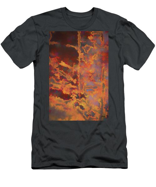 Color Abstraction Lxxi Men's T-Shirt (Athletic Fit)