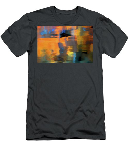 Men's T-Shirt (Athletic Fit) featuring the photograph Color Abstraction Lxxii by David Gordon