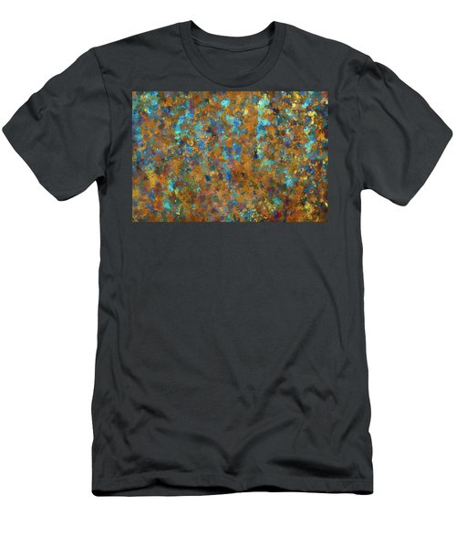 Men's T-Shirt (Slim Fit) featuring the photograph Color Abstraction Lxxiv by David Gordon