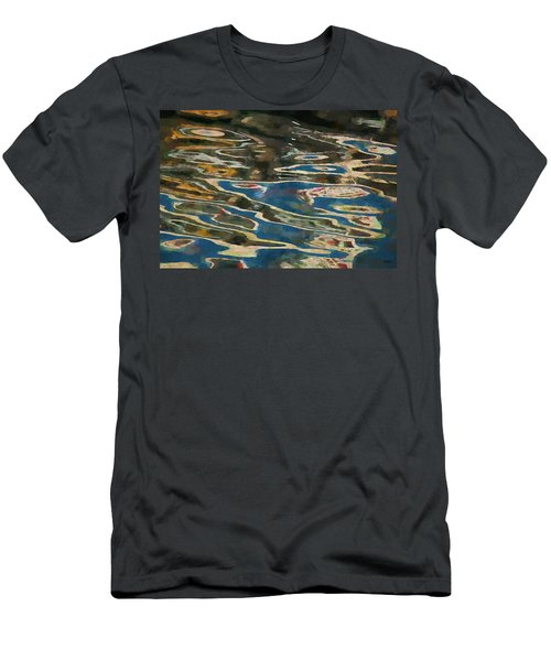 Men's T-Shirt (Slim Fit) featuring the photograph Color Abstraction Lxxv by David Gordon