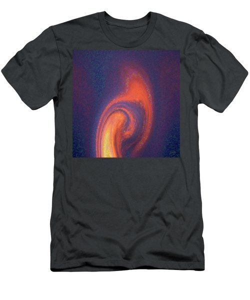 Color Abstraction Xlii Men's T-Shirt (Slim Fit) by David Gordon