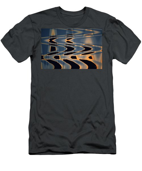 Color Abstraction Xxiv  Men's T-Shirt (Slim Fit) by David Gordon
