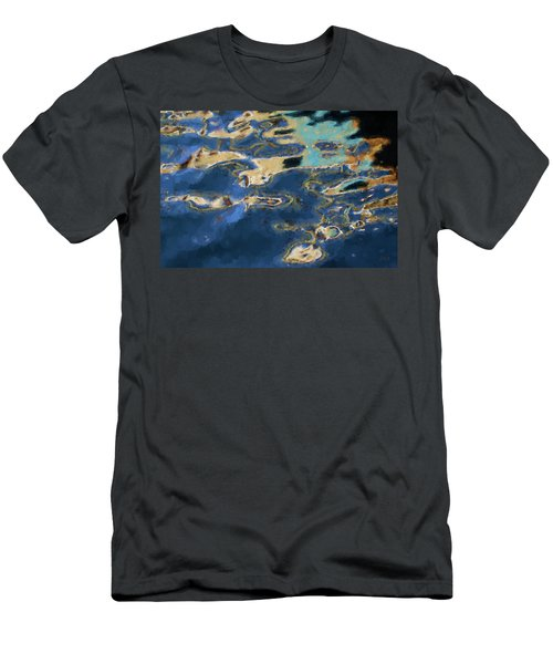 Color Abstraction Xxxvii - Painterly Men's T-Shirt (Athletic Fit)