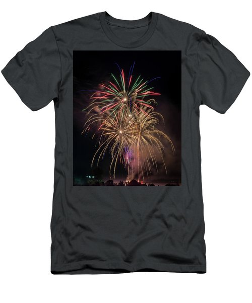 Men's T-Shirt (Athletic Fit) featuring the photograph Color And Chaos by Bill Pevlor