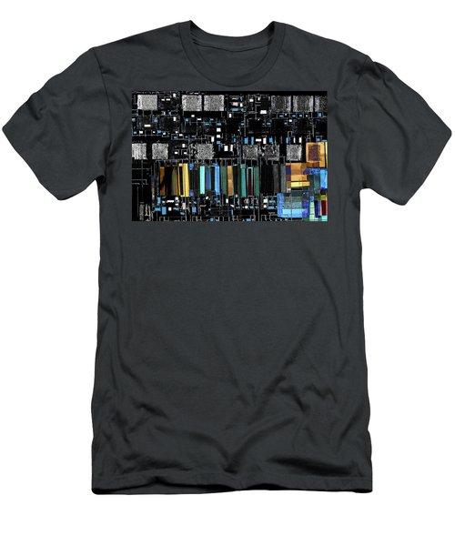 Color Chart Men's T-Shirt (Slim Fit) by Don Gradner