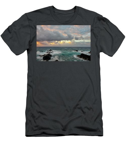Color In Maui Men's T-Shirt (Athletic Fit)