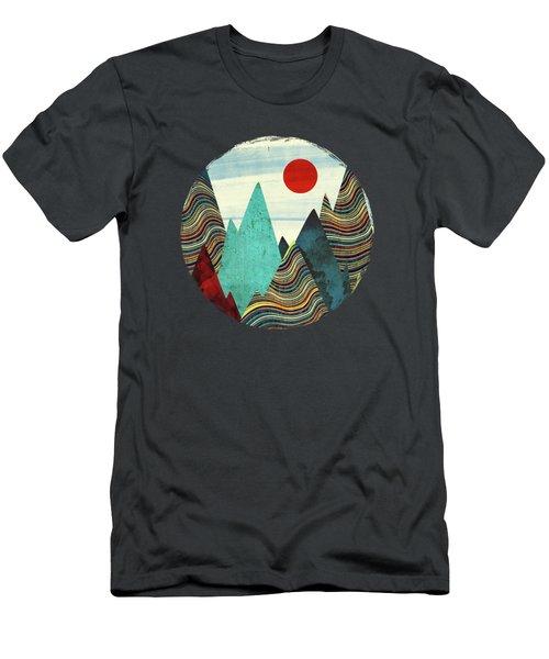 Color Peaks Men's T-Shirt (Athletic Fit)