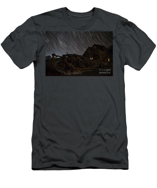 Colorado Gold Mine Men's T-Shirt (Slim Fit) by Keith Kapple