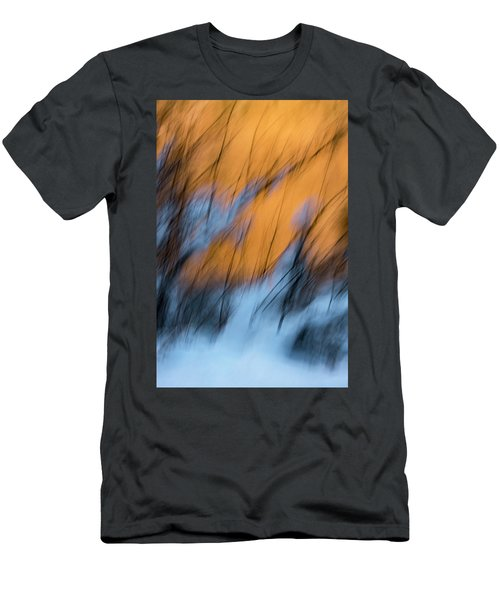 Colorado River Snow Banks Men's T-Shirt (Athletic Fit)