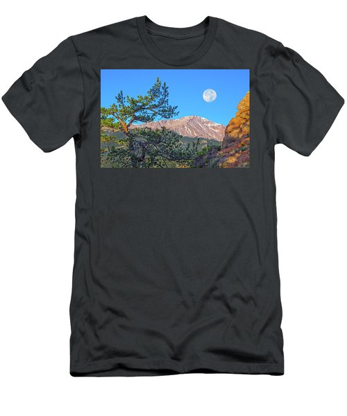 Colorado Rocky Mountain High, Just A Breath Away From Heaven Men's T-Shirt (Athletic Fit)