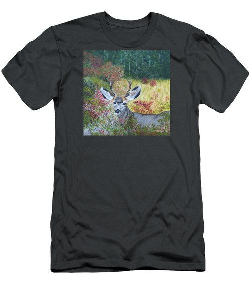 Colorado White Tail Deer Men's T-Shirt (Athletic Fit)