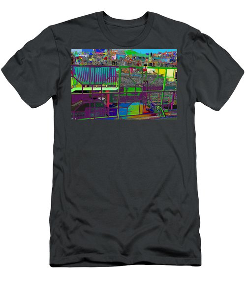 colorfication of Chinatown  Men's T-Shirt (Athletic Fit)