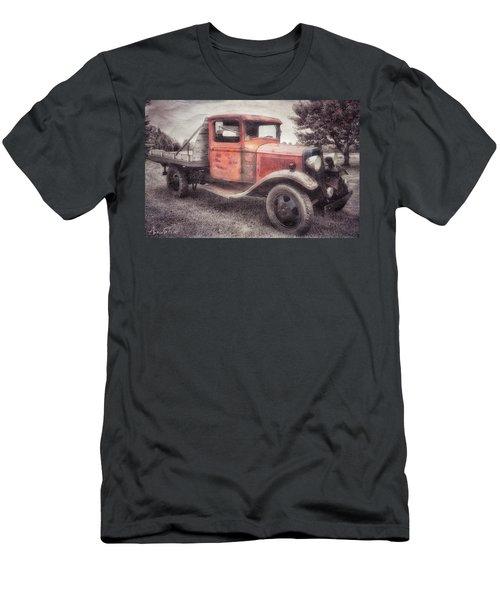 Colorful Past Men's T-Shirt (Athletic Fit)