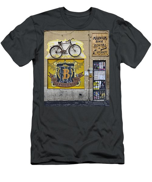 Colorful Signage In Palma Majorca Spain Men's T-Shirt (Athletic Fit)
