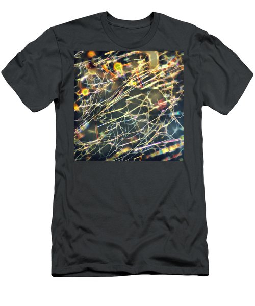 Rainbow Network Men's T-Shirt (Athletic Fit)