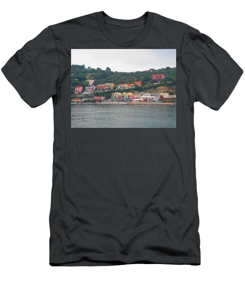 Colors Along The Coast Men's T-Shirt (Athletic Fit)