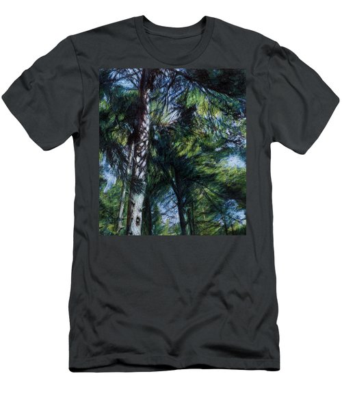 Colors Of Green Men's T-Shirt (Athletic Fit)