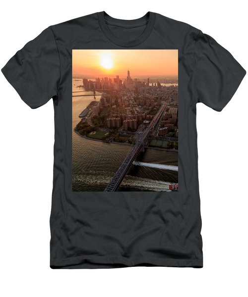 Colors Of Ny Men's T-Shirt (Athletic Fit)