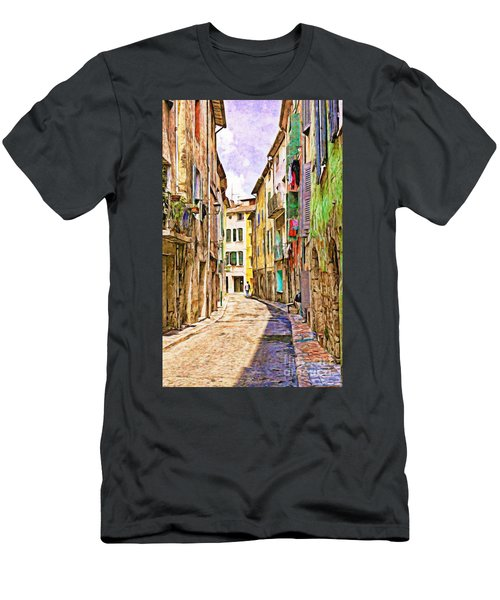 Colors Of Provence, France Men's T-Shirt (Athletic Fit)