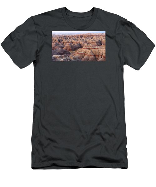 Colors Of The Badlands Men's T-Shirt (Athletic Fit)
