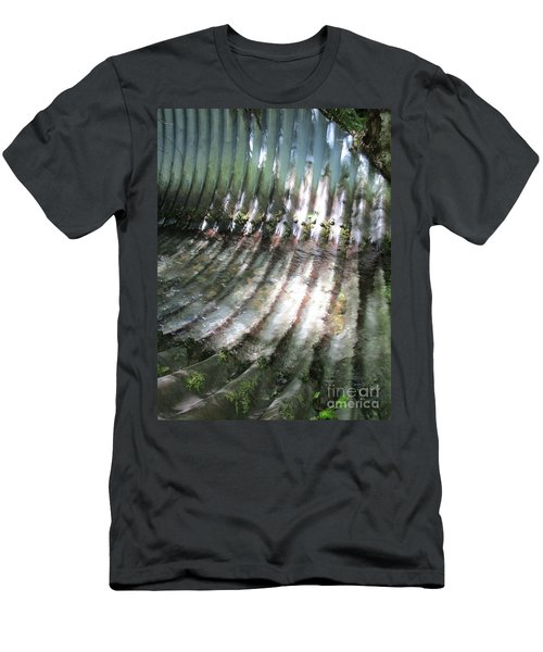 Men's T-Shirt (Athletic Fit) featuring the photograph Colors Of The Culvert by Marie Neder