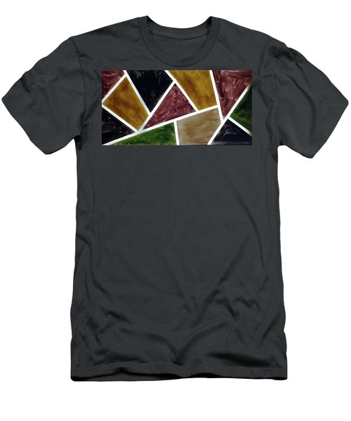Coloured Glass Men's T-Shirt (Athletic Fit)