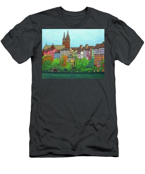 Basel, Colours Of Basel Men's T-Shirt (Athletic Fit)