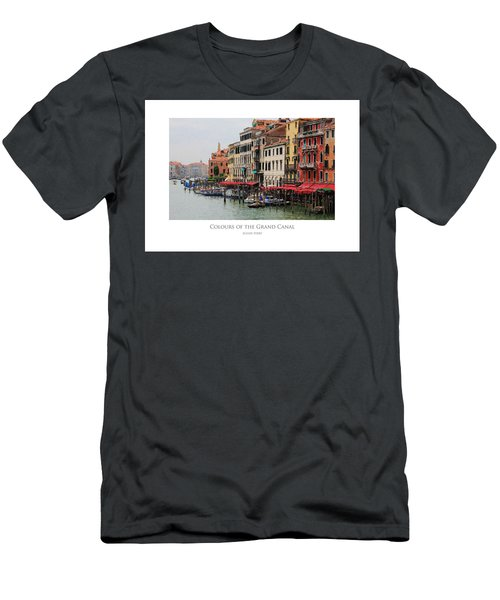 Colours Of The Grand Canal Men's T-Shirt (Athletic Fit)