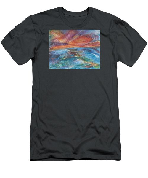 Colours Of The Sea 8 Men's T-Shirt (Athletic Fit)