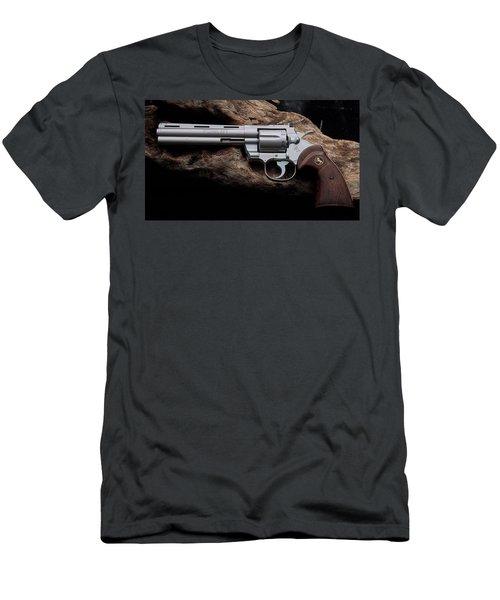 Colt Python Revolver Men's T-Shirt (Athletic Fit)