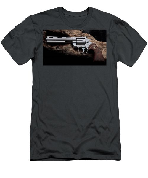 Colt Python Revolver Men's T-Shirt (Athletic Fit)