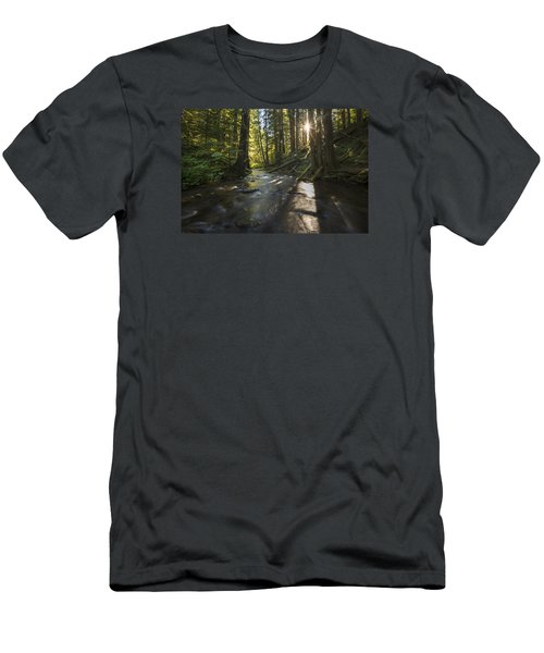 Columbia Gorge Sunrise Men's T-Shirt (Athletic Fit)