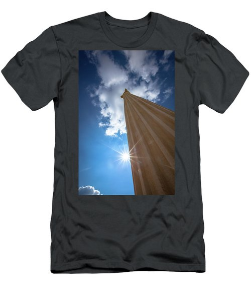 Column To Sky Men's T-Shirt (Athletic Fit)