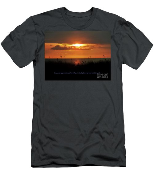 Come Away With Me  Men's T-Shirt (Slim Fit) by Christy Ricafrente