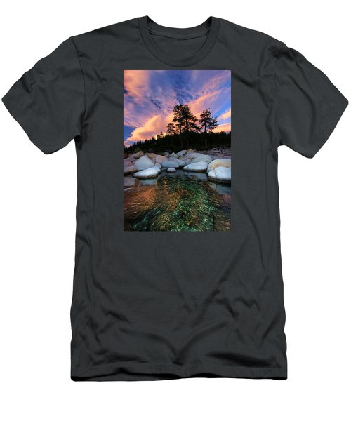 Come Into My World Men's T-Shirt (Slim Fit) by Sean Sarsfield
