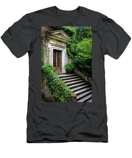 Men's T-Shirt (Slim Fit) featuring the photograph Come On Up To The House by Marco Oliveira