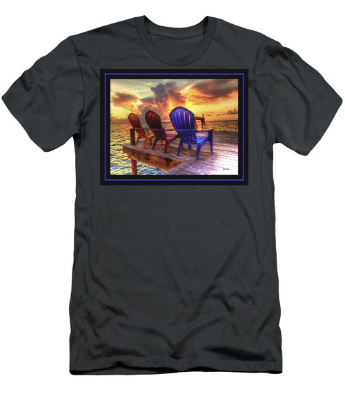 Men's T-Shirt (Slim Fit) featuring the photograph Come Sit A While by Steven Lebron Langston