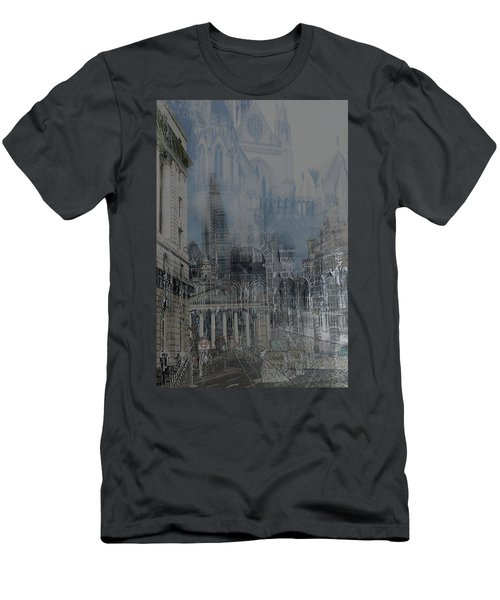 Comes The Night - City Deamscape Men's T-Shirt (Athletic Fit)