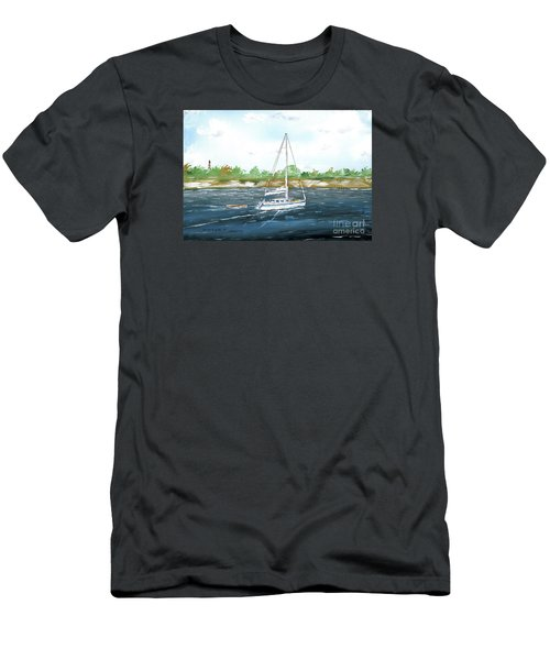 Coming Back To The Isle Of Palms Men's T-Shirt (Athletic Fit)
