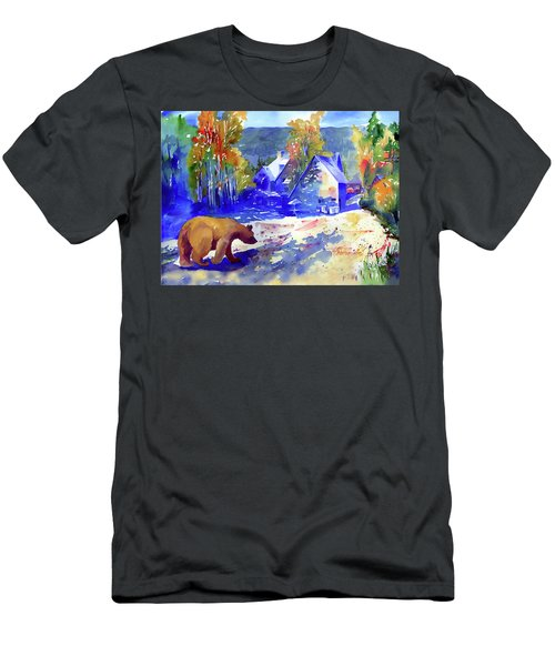 Coming For Dinner At Rainbow Lodge Men's T-Shirt (Athletic Fit)
