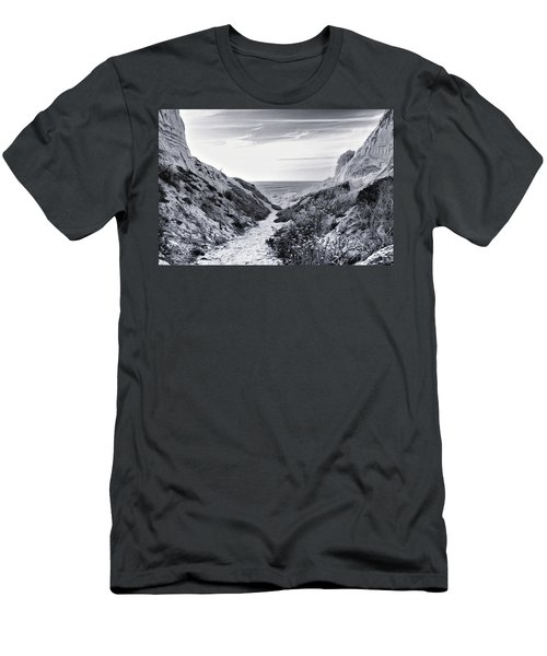 Men's T-Shirt (Athletic Fit) featuring the photograph Coming Through by Alison Frank