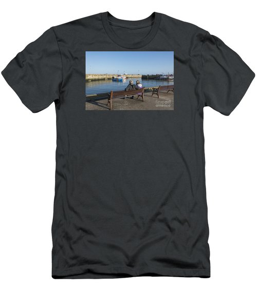 Comings And Goings Men's T-Shirt (Slim Fit) by David  Hollingworth