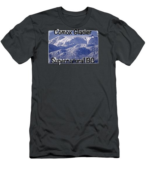 Comox Glacier And Fresh Snow Men's T-Shirt (Athletic Fit)